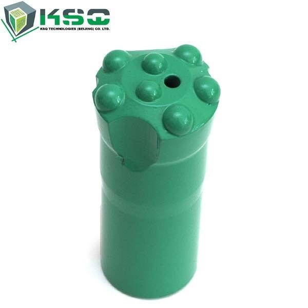 H25 Threaded Button Drill Bit For Minning Qaurring Customized Specs