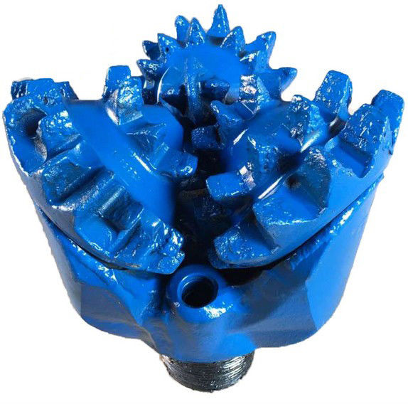 Borehole Drilling Steel Tooth Tricone Drill Bit , Mill Tooth Tricone Bit