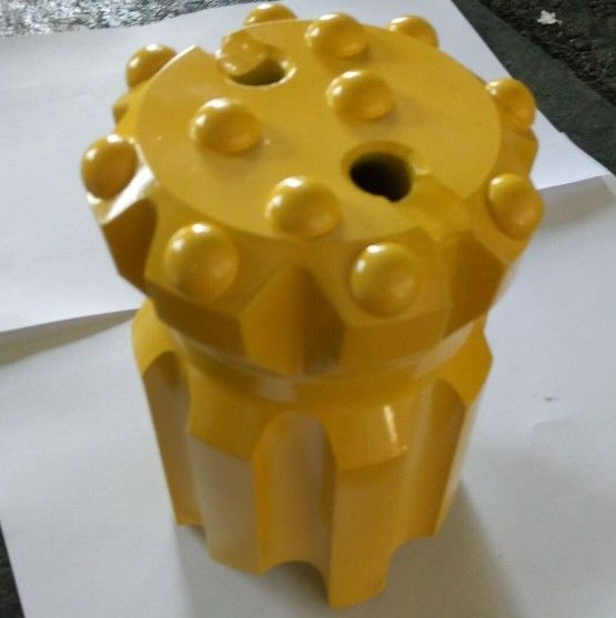 Forging T45 Thread Retractable Drill Bit Thread Button Bit For Rock Drilling