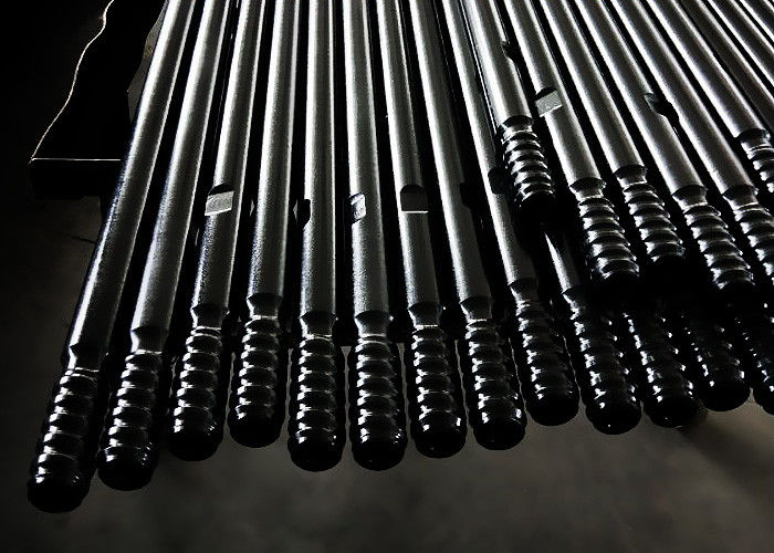 Anti Wear Rock Drilling Equipment , Extension Drill Rods For Tunneling / Mining