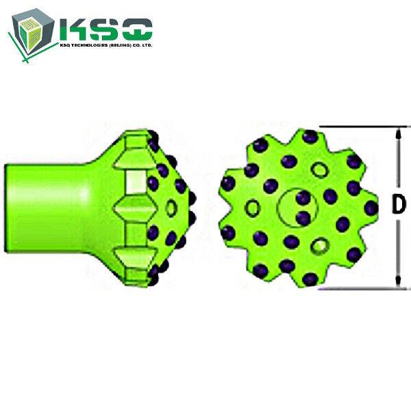 T51 Dome Rock Tungsten Carbide Drill Bit Mining Drill Bits 152mm