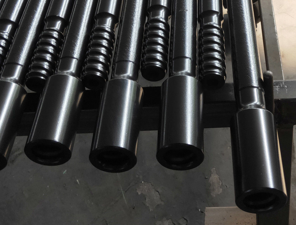 Tunneling Mining Drill Steel Rod / Rock Drill Rod 10 Feet Length High Precision