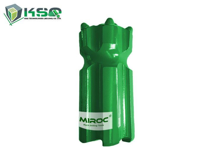 Green T45 Retrac Body Button Drill Bit With 14 Carbide Diameter 76mm