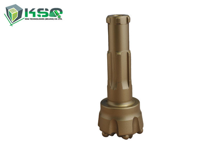BR Series Shank DTH Drill Bits 95mm Diameter Convex Face For Water Well Industries
