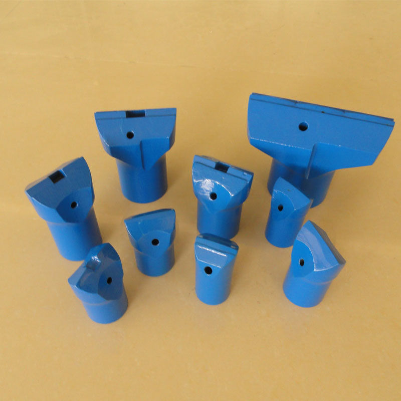 7° Tapered Flat Chipways Tungsten Carbide Drill Bit CNC Milling For Quarrying