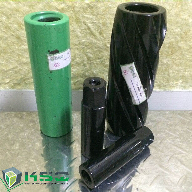 Coupling Sleeve T38 / T45 Drill Coupling , T51 Drill Rod Coupling